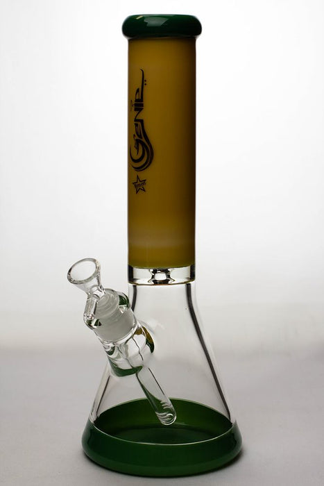 13 in. Genie two tone 9 mm glass beaker water bong - One wholesale Canada