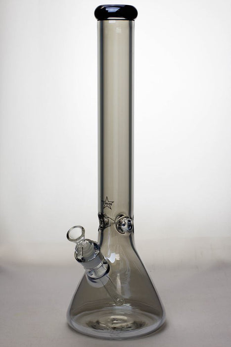 17 in. Genie Metallic 7 mm glass beaker bong - One wholesale Canada