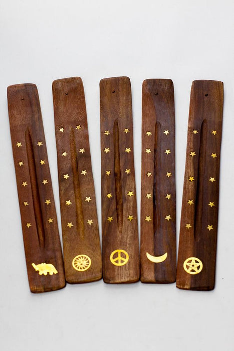 Wooden incense holder - 5 ea - One wholesale Canada