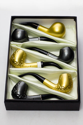 Sherlock durable plastic pipe in a display case -WP142 - One wholesale Canada