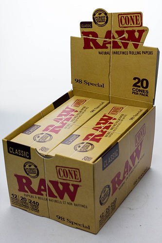 RAW Classic 98 Special Cones - One wholesale Canada