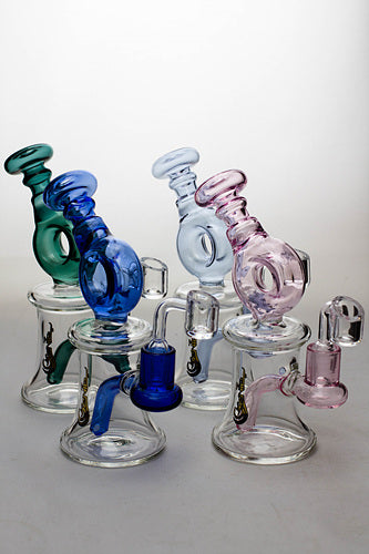 7.5 in. genie bubbler with a banger - One wholesale Canada