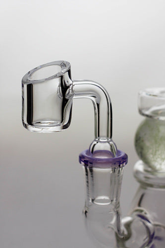 7.5 in. genie glass ball insert bubbler with a banger - One wholesale Canada