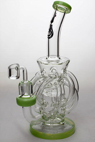 "9"" twelve tube and inline diffused recyler with banger - One wholesale Canada"