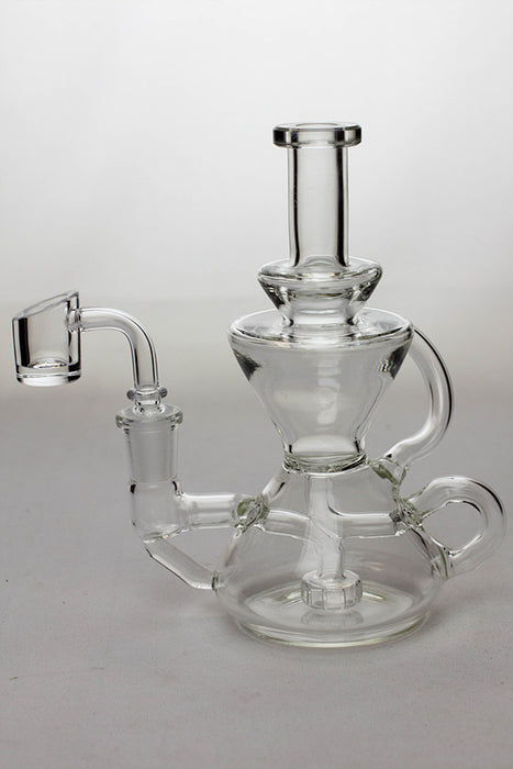 6.5 in. tea pot shape recycled rig - One wholesale Canada