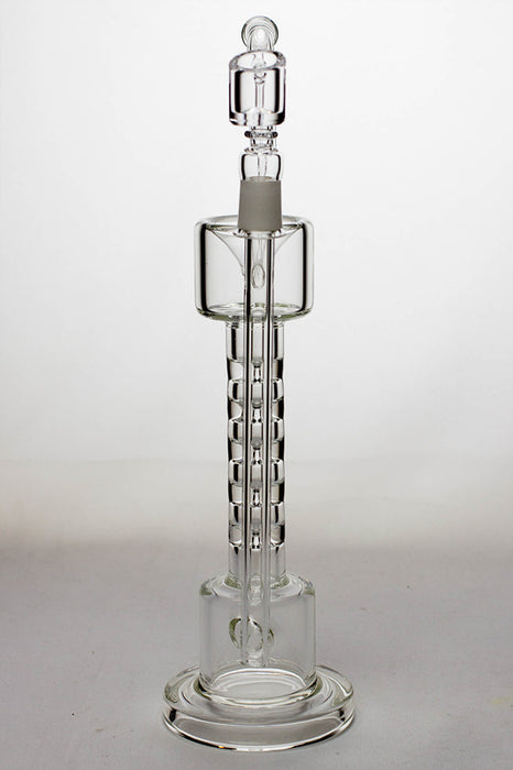 12 in. 5-stage skinny tube rig with a banger - One wholesale Canada