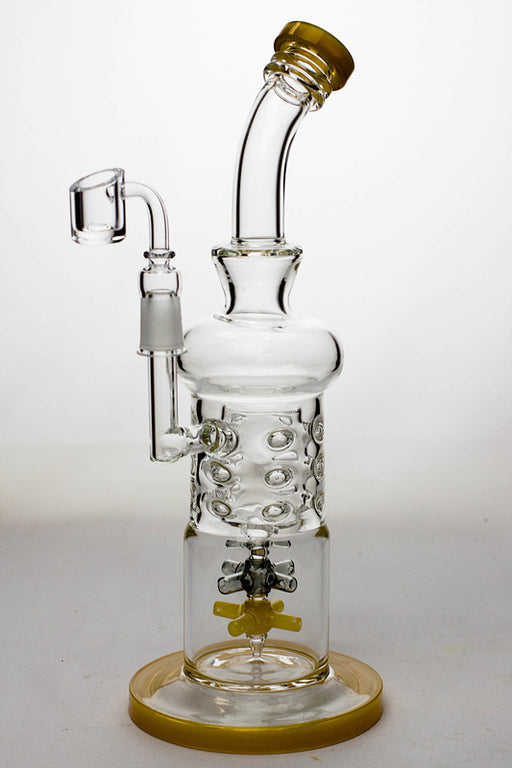 "12"" dual vane diffuser rig with a banger - One wholesale Canada"