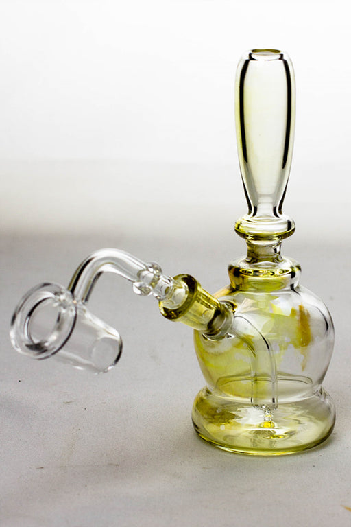"6"" stem diffuser mini rig with a banger - One wholesale Canada"