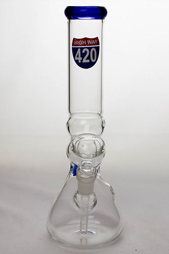 "10"" glass beaker water pipe - 420 - One wholesale Canada"
