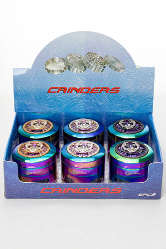 Genie Crab ornament 4 parts large grinder in display - One wholesale Canada