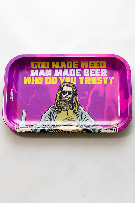 Smoke Arsenal Rolling Medium Tray - One wholesale Canada