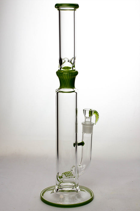 "17""  Marble colours inline diffuser glass water bong - One wholesale Canada"