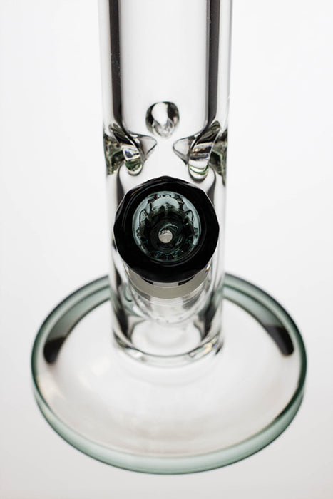 "17"" Genie 9 mm straight glass tube water bong - One wholesale Canada"