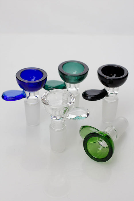 Color glass male bowl - One wholesale Canada