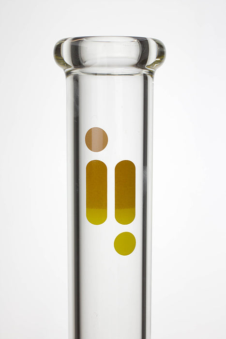 "14"" infyniti 7 mm glass beaker water bong - One wholesale Canada"