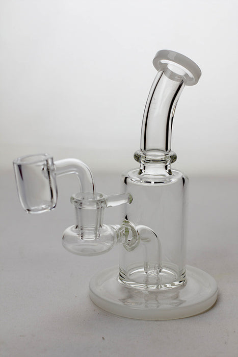 "6"" stem diffuser rig with a banger - One wholesale Canada"