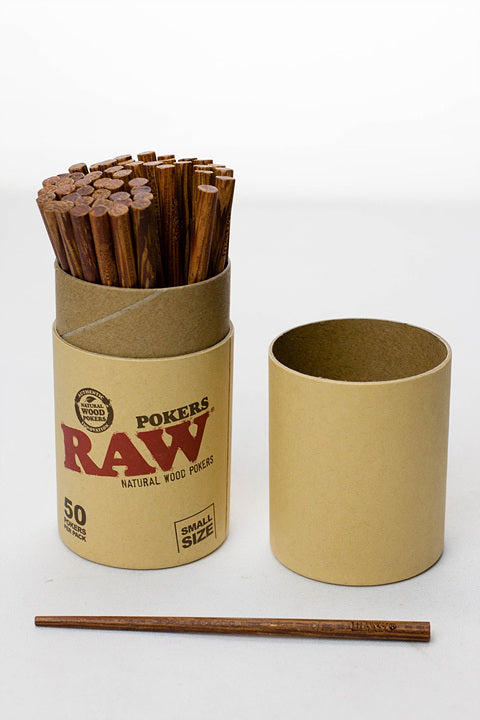 RAW Natural Wood Pokers - One wholesale Canada