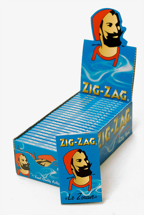 ZIG-ZAG blue slow-burning rolling paper - One wholesale Canada
