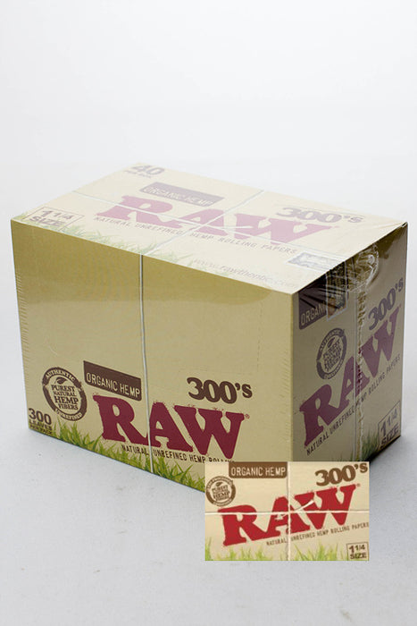 RAW 300's. Organic hemp paper - One wholesale Canada