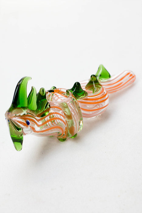"6"" Dragon glass hand pipe - One wholesale Canada"