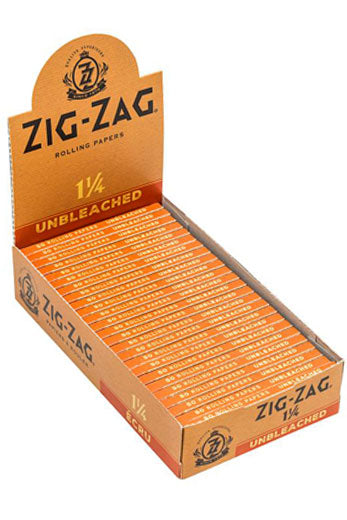 Zig Zag Unbleached 1 1/4 Papers