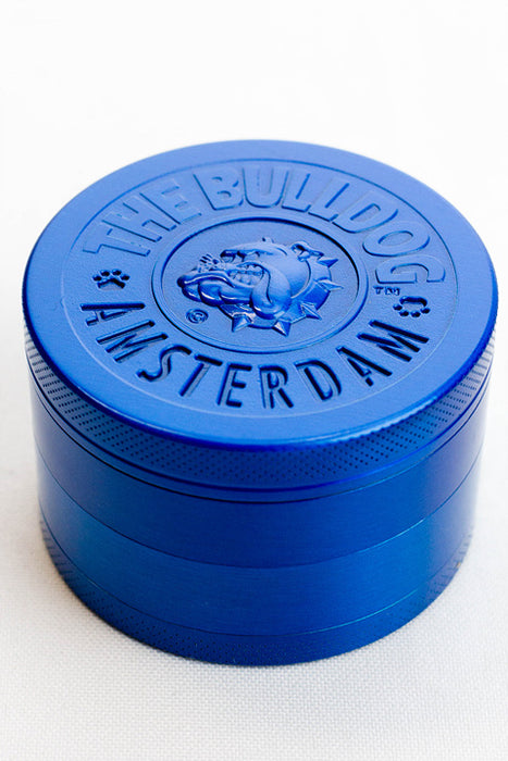 4 parts embossed Amsterdam Bulldog  grinder
