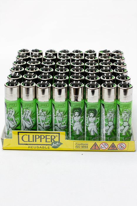Clipper Mary Jane Pinup Refillable Lighters