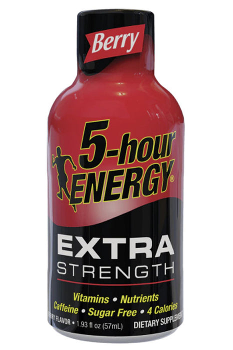 Berry Flavor Extra Strength 5-hour ENERGY Drink