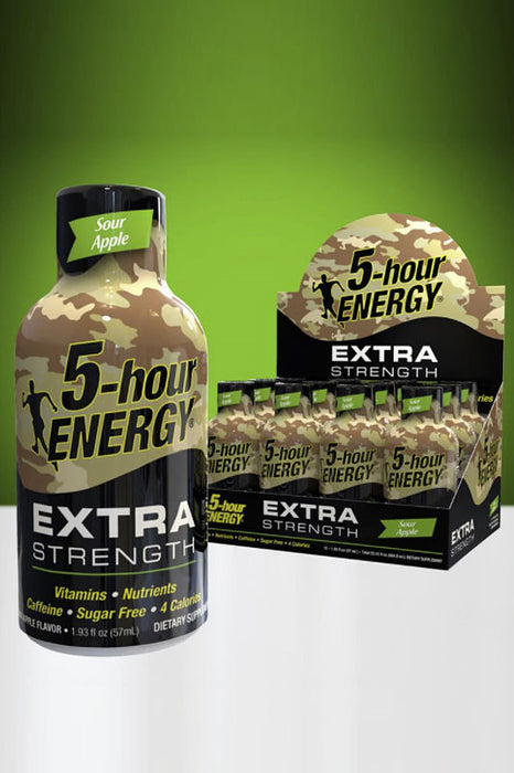 Sour Apple Flavor Extra Strength 5-hour ENERGY Drink