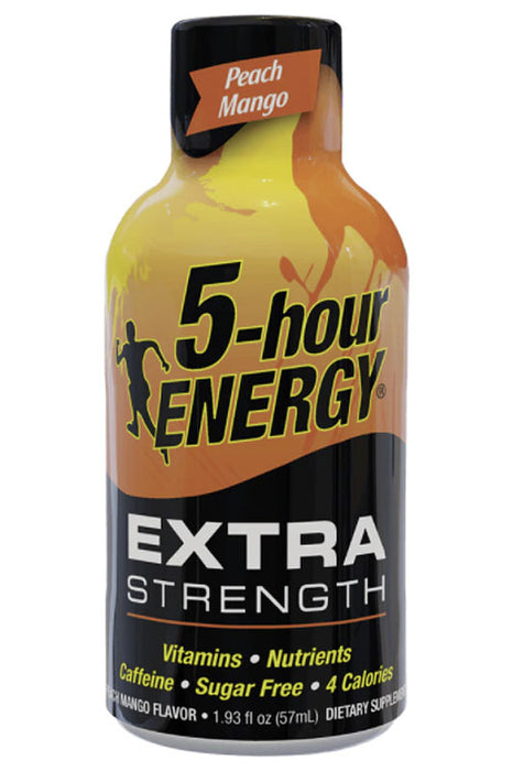 Peach Mango Flavor Extra Strength 5-hour ENERGY Drink