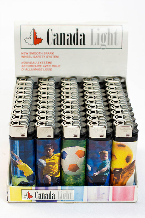 Canada Light graphic disposable lighter