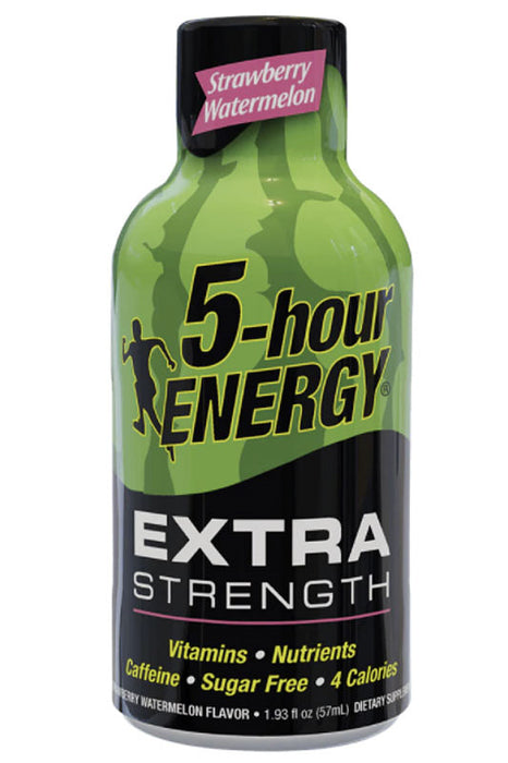 Strawberry Watermelon Flavor Extra Strength 5-hour ENERGY Drink
