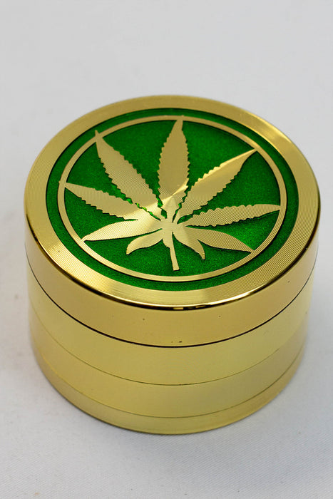 4 parts leaf metal color grinder displays