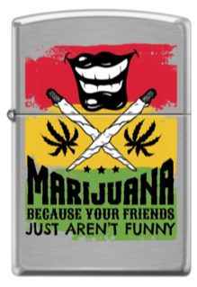 Zippo 200 - 064435 Marijuana Mouth - One wholesale Canada