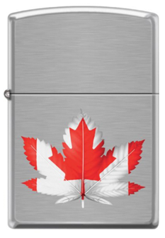 Zippo CI407483 Canadian Maple / Marijuana Leaf - One wholesale Canada