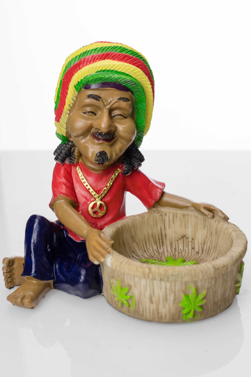 Funny man Resin ashtray - One wholesale Canada