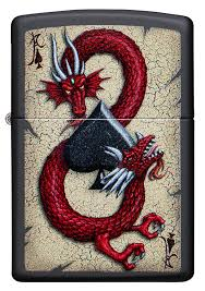 Zippo 29840 Dragon Ace Design - One wholesale Canada