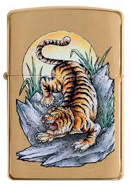 Zippo 49116 Tattoo Tiger Design - One wholesale Canada