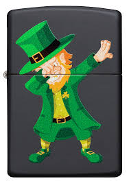 Zippo 49124 Dabbin Leprechaun Design - One wholesale Canada