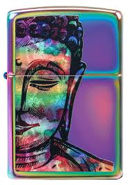 Zippo 49136 Bright Buddha Design - One wholesale Canada