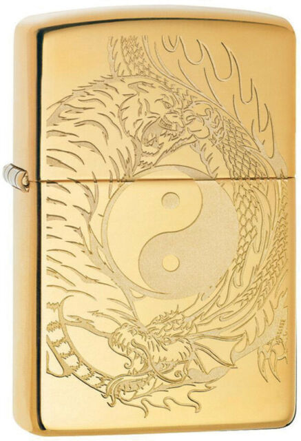 Zippo 49024 Tiger Dragon Design - One wholesale Canada