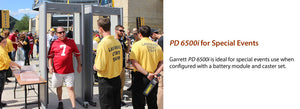 Garrett PD 6500i™ Enhanced Pinpoint Walk-Through Metal Detector 2