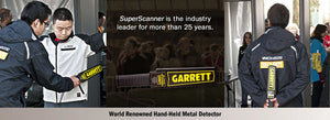 Garrett Super Scanner V Hand-Held Metal Detector 1165190