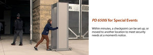 Garrett PD 6500i™ Enhanced Pinpoint Walk-Through Metal Detector 4