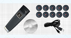 Professional RFID Guard Tour Patrol System Kit, Beep/Vibrating Alert W/Software