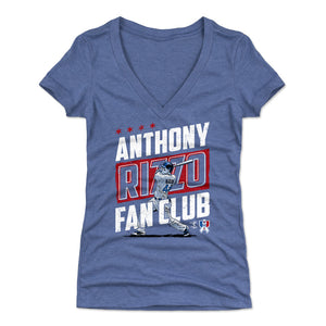 Anthony Rizzo Women's V-Neck T-Shirt | 500 LEVEL