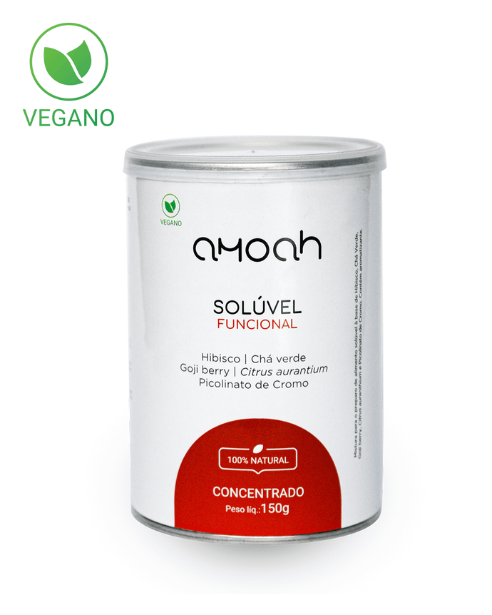 Solúvel Amoah 100% Natural 150g