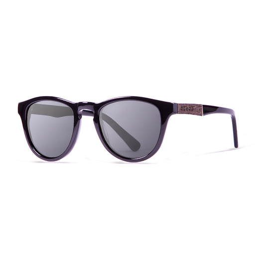 ocean sunglasses KRNglasses model AMERICA SKU 12100.2 with demy brown frame and smoke lens