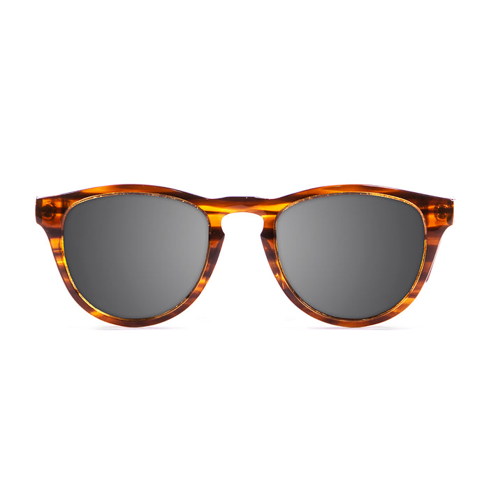 ocean sunglasses KRNglasses model AMERICA SKU 12100.3 with demy brown yellow frame and brown lens