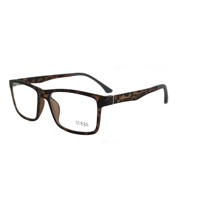 ocean sunglasses KRNglasses model ESTOCOLMO SKU 16111.1O with brown frame and transparent lens